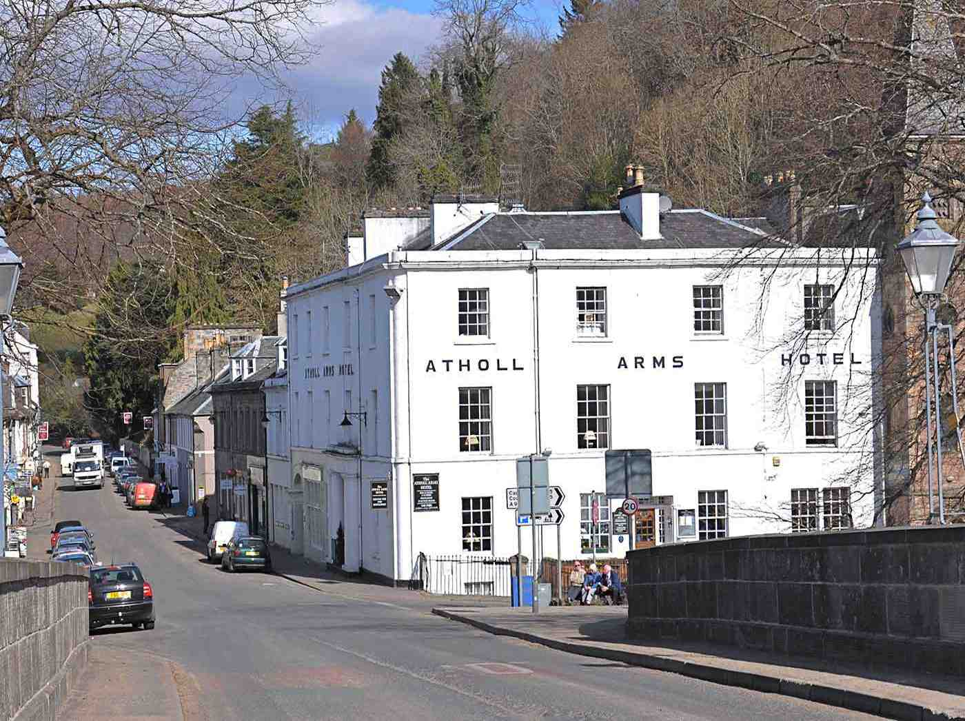 The Atholl Arms Hotel In Dunkeld