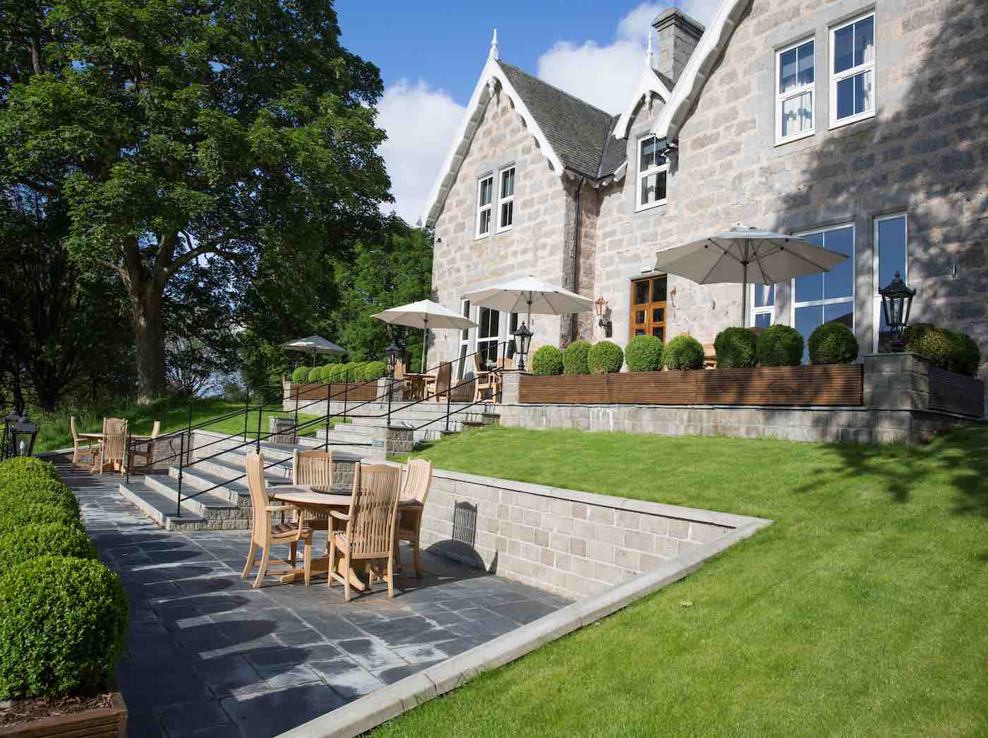 Muckrach Country House Hotel Terrace